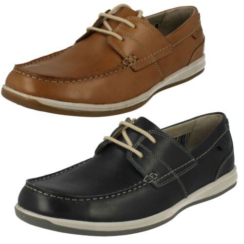 hombre Fallston con Zapatos marrón para cordones azul botes marino de claro Style para en cuero OO1A0