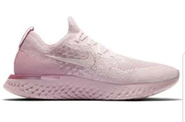 NIKE MENS EPIC REACT FLYKNIT  PERAL PINK  Size 11.5 AQ0067 600 Pink