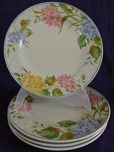 Mikasa-Garden-Bouquet-DINNER-PLATE-1-of-4-available-have-more-items-Flowers