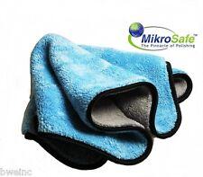 Ultimate Blue / Grey MIKROSAFE Microfiber Watch Polish Cloth   16x16