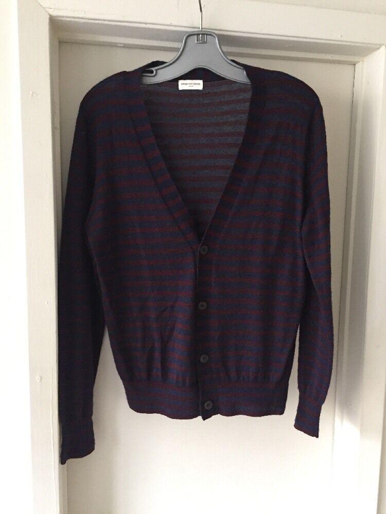 DRIES VAN NOTEN  Wool Cashmere Light Cardigan Sweater Small Belgium