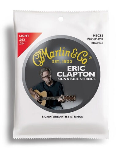 "MARTIN /""Claptons Choice/"" Phosphor Bronze MEC-12 light"