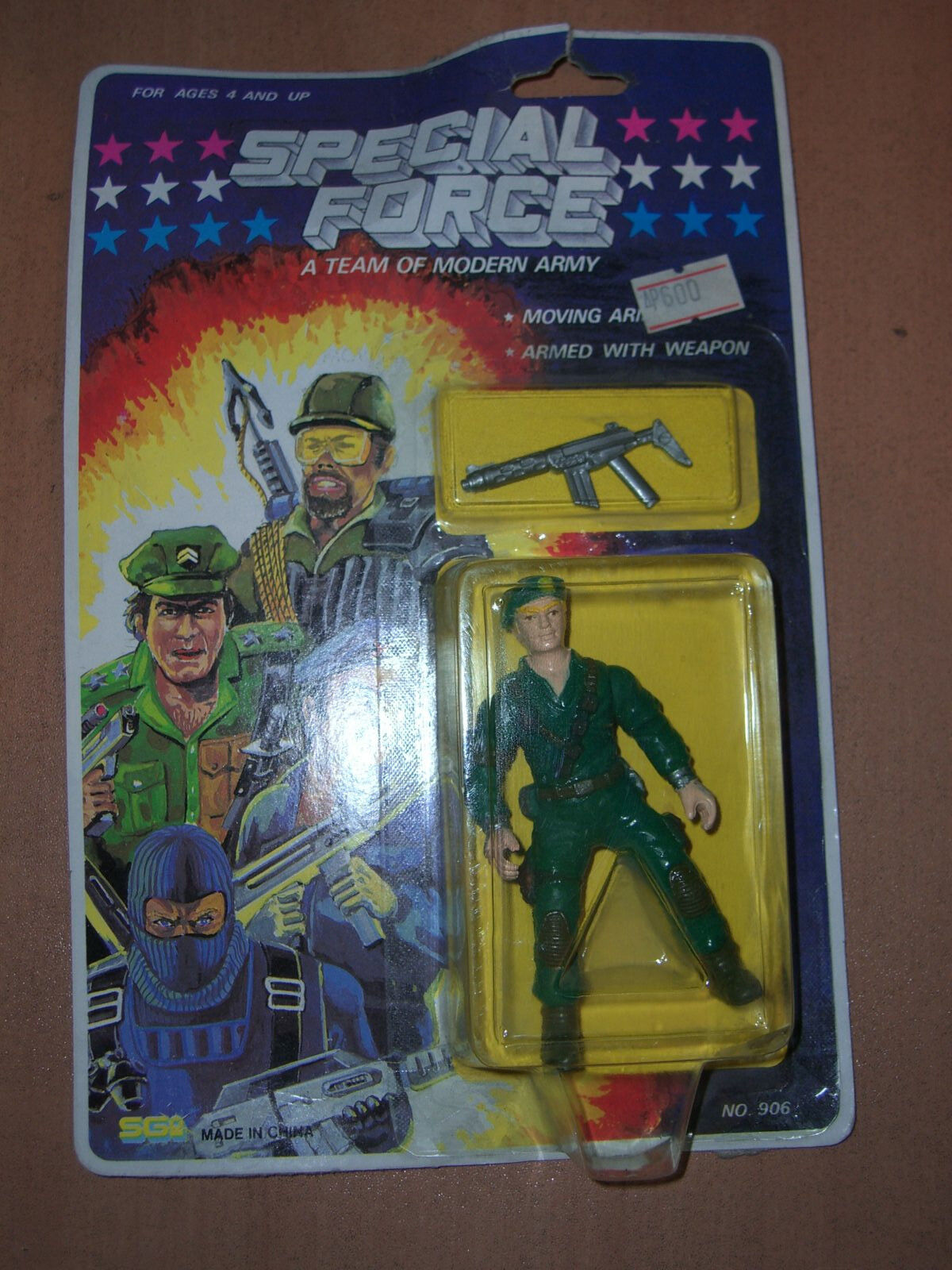 80'S GI JOE KO VINTAGE SPECIAL FORCE DIALTONE FIGURE SGI SGI SGI SUNGold MOC 09a34c
