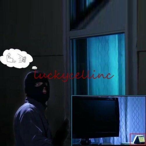 Home Security TV Simulator - Burglary and Vandal Home Protection Device Fake TV