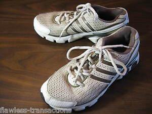 Details about ADIDAS adiPRENE Adiwear White Silver Running Training Shoes Sz Womens Size 7.5