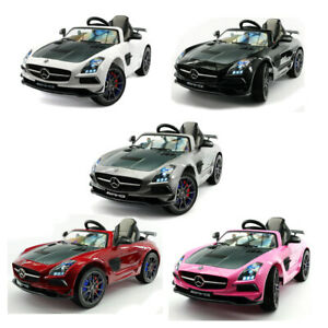 Mercedes SLS AMG 12V Kids Ride-On Car With Parent R/C MP3 Led Lights