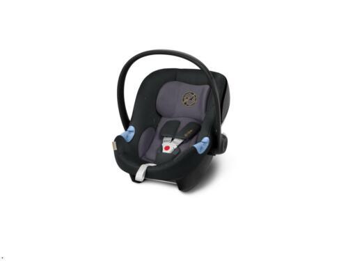Cybex Aton M Babyschale Premium Black inkl. Neugeboreneneinlage bis 13 kg