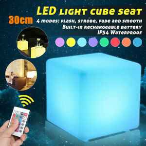 30x30x30cm-LED-Color-Chair-Waterproof-Rechargeable-Lighting-Party-Remote-Control