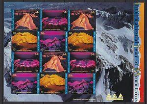 UNO-New-York-2002-postfrisch-Zd-Bogen-MiNr-896-899-Klimawandel