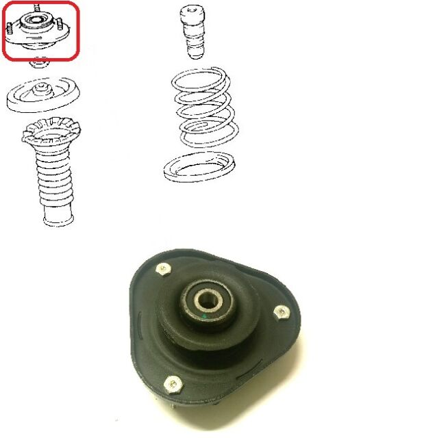 shock absorbers TSS-036 FEBEST Mounting