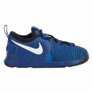 2c2cd9d74e0 Nike KD 9 Toddlers 855910-410 Game Royal Blue Infant Durant Shoes ...