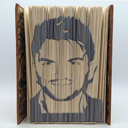 Libro Plegable Patrón-Marca medida Cut /& Fold-Peter Andre