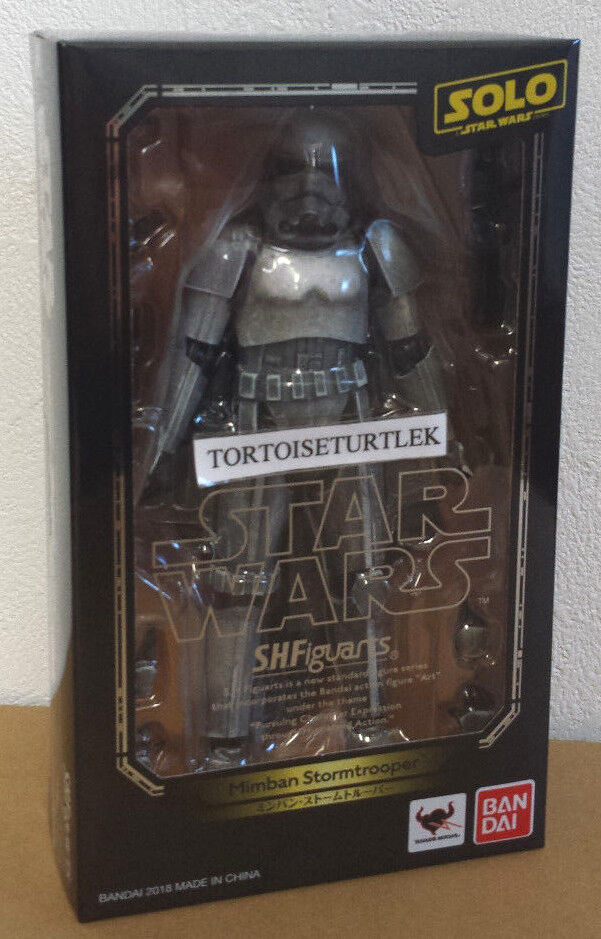 BANDAI Star Wars Solo S.H.Figuarts Mimban Stormtrooper Action Figure