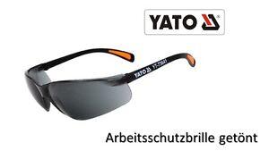 Arbeitsschutzbrille-getoent-Schutzbrille-Brille-dunkel-Sonnenbrille-gekruemmt-YATO