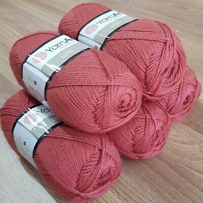 YarnArt Elite Double Knitting Yarn 5 x 100g acrylic colour 219