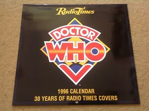 VERY-RARE-SIGNED-Tom-Baker-Doctor-Who-1996-Radio-Times-Mint-Calendar-Autographed