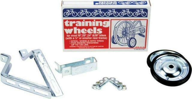 """Adjustable Adult Bicycle Bike Training Wheels Fits 16/"""" To 26/"""" W// Free Shipping"""