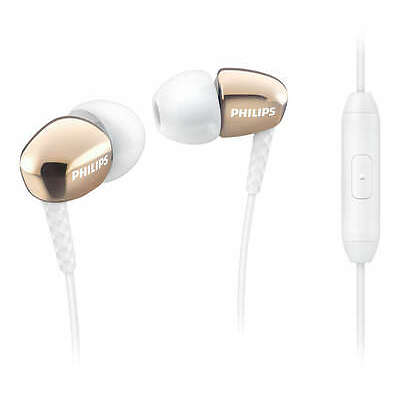 Philips SHE3905GD In Ear Headphones with Mic (Gold)