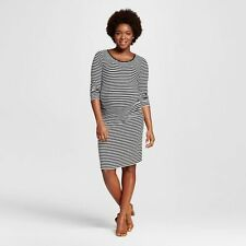 06f5d2ab95b item 2 Liz Lange Target 3 4 Sleeve Striped Maternity Dress in Navy Cream ~  NWT ~ Size M -Liz Lange Target 3 4 Sleeve Striped Maternity Dress in Navy  Cream ...