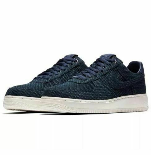 Size 7.5 - Nike Air Force 1 Low Aizome Blue for sale online | eBay