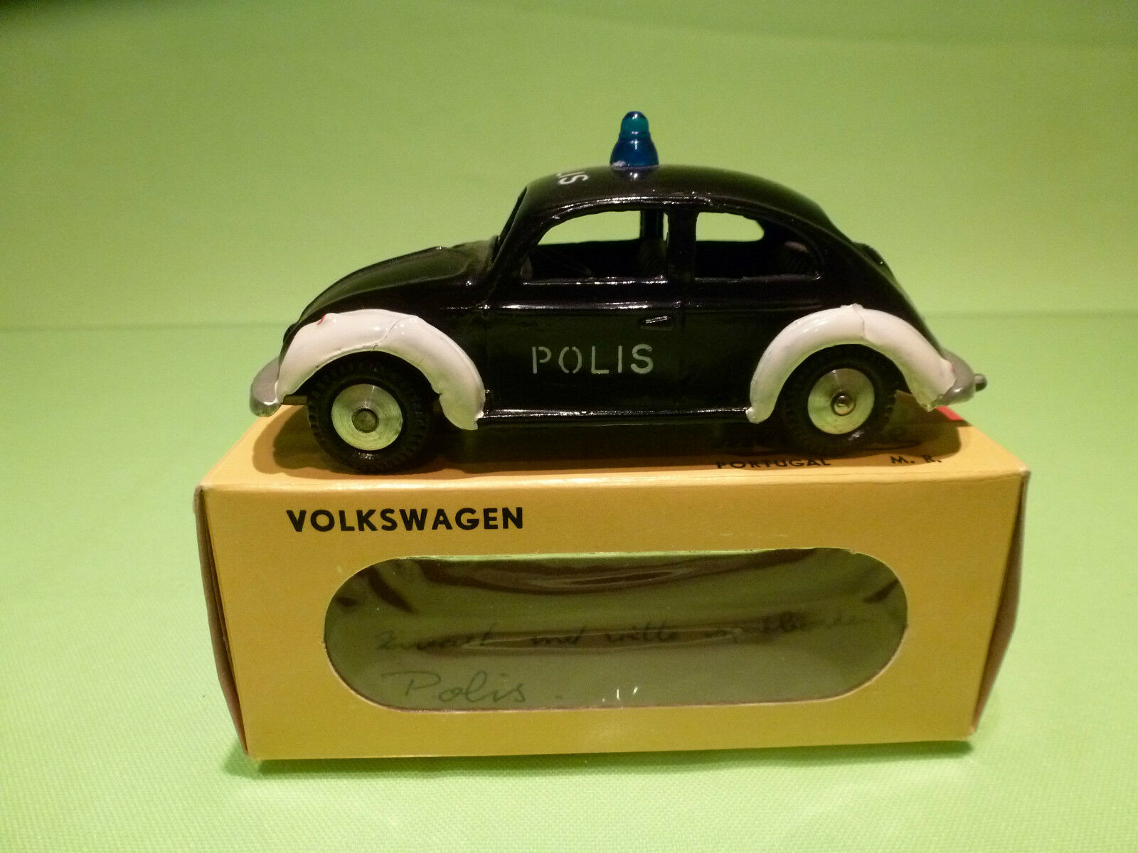 METOSUL 5 VW VOLKSWAGEN KAFER - POLIS - POLICE - RARE SELTEN - GOOD COND. IN BOX