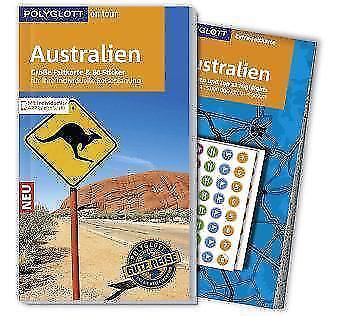 POLYGLOTT on tour Reiseführer Australien: Mit großer Faltkarte, 80 Stickern und
