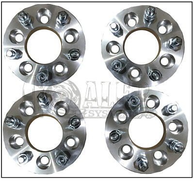 """2 Wheel Spacers Adapters5x120 To 5x4.751.25/""""12x1.5 Studs"""