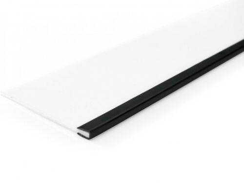 Kantenschutz Gummidichtung Kantenschutzprofil Dichtung Schutzband Schwarz NEU