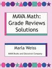 Mava Math Grade Reviews Solutions 9781434375858 by Marla WEISS Paperback