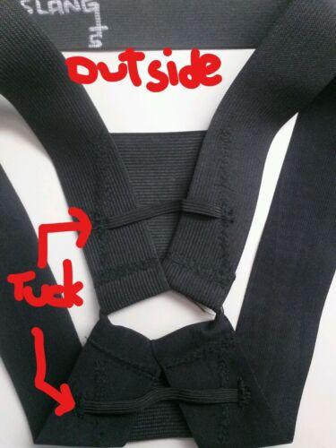 Black D-Slang Harness for GuysLikeUs