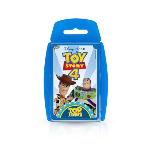 Toy STORY 4 TOP TRUMPS Carte da gioco