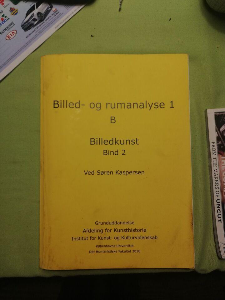 Kompendium Billed- og rumanalyse I B Bind 2, Institut for