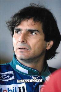 9x6-Photograph-Nelson-Piquet-F1-Benetton-Ford-Portrait-1990-Grand-Prix-Season