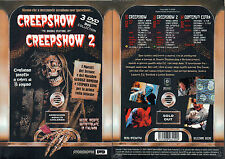 CREEPSHOW + CREEPSHOW 2 - BOX COLLECTION 3 DVD ( NUOVO SIGILLATO )