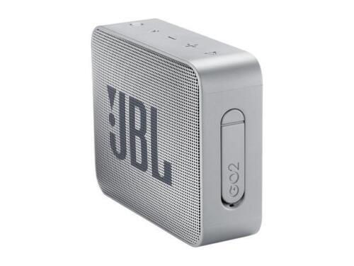 JBL GO 2 Portable Bluetooth Waterproof Speaker Gray