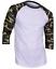 Raglan-Men-039-s-Casual-Baseball-T-Shirt-3-4-Sleeve-Plain-Jersey-Tee-S-2XL thumbnail 14