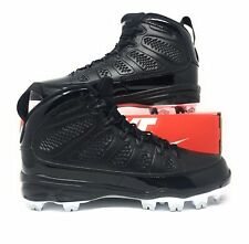 designer fashion 5b3c5 cf0b4 item 4 Nike Air Jordan 9 IX Retro MCS Men s Baseball Cleats Black White  Re2pect Size 8 -Nike Air Jordan 9 IX Retro MCS Men s Baseball Cleats Black  White ...