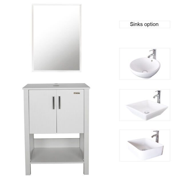 Inch Single Sink Bathroom Vanity Set