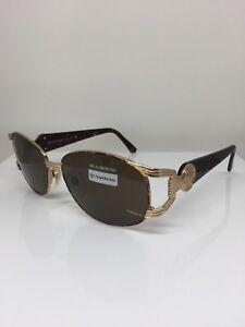 New-Vintage-Sergio-Tacchini-Sunglass-ST-1041-Sunglasses-C-T802-Tortoise-amp-Gold