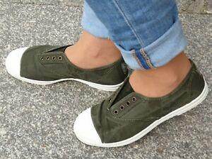 Natural World 102E 622 kaki enz BIO-BAUMWOLLE Sneaker  vulkanisiert zertifiziert