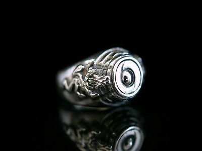 Ring Silber 925 Giftring  Ich atme tief und ohne Angst