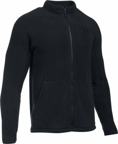 Details about  /Under Armour Men/'s Black UA Tactical Superfleece Full Zip Jacket