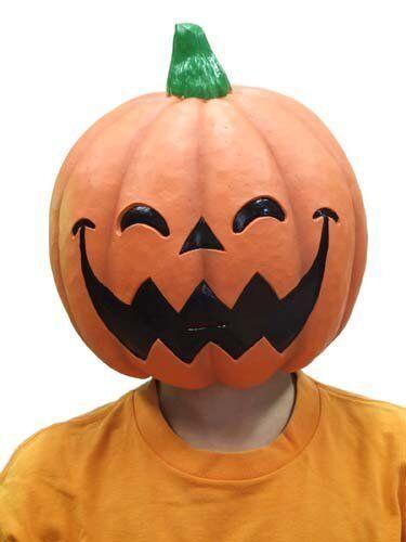 OGAWA STUDIOS M2 Smiley Pumpkin Mask School Festival Halloween Costume w//Track#