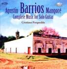 Barrios: Sämtliche Gitarrenmusik von Cristiano Porqueddu (2010)