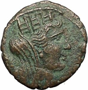 TYRE-in-PHOENICIA-Roman-Emperor-Hadrian-Time-131AD-Ancient-Greek-Coin-i57575