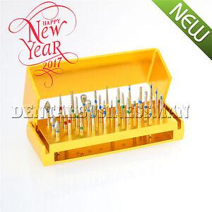 30-Pcs-Dental-Diamond-Burs-Drill-Disinfection-Bur-Block-High-Speed-Handpieces