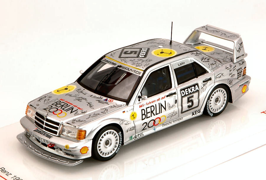 Mercedes 190E EVO2 Dtm 1992 E. Lohr 1 43 43 43 Model TRUE SCALE MINIATURES 7addc2