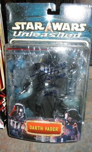 Star - wars - darth vader abbildung autogramm dave prowse