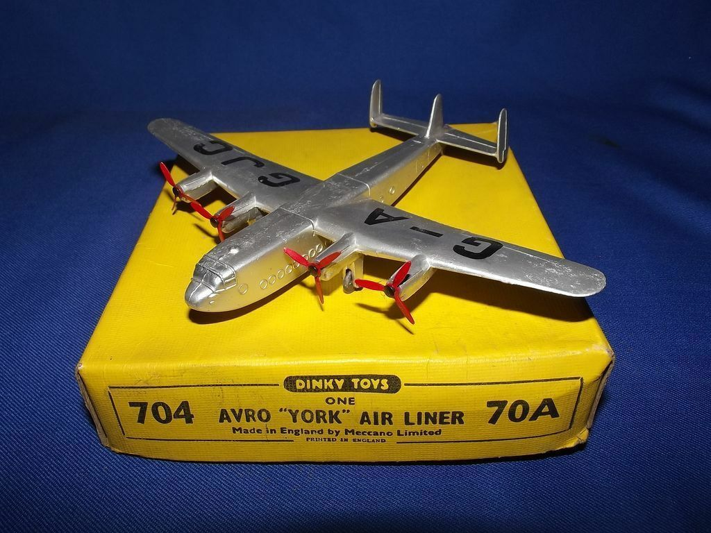 Boxed Dinky Toys No.704   70A Avro York Air Liner