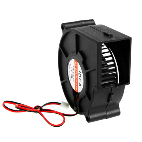 75mmx30mm DC12V 2-Pin 0.24A Computer PC Sleeve-Bearing Blower Cooling Fan 7530